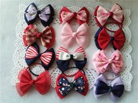 Hot Sale Beautiful Color ribbon bows hair bow with soft head...