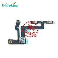 Bouton de contrôle du volume Mute Flex Cable remplacement du ruban pour Iphone 6 4.7 et 6 Plus 5.5 Livraison gratuite