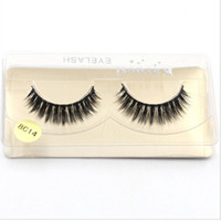Plastic Black Terrier False Eyelashes 1- 1. 5cm Hand Made Synt...