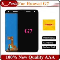Pour Huawei G7 LCD Écran Tactile Numériseur Assemblée Remplacement Pour Huawei Ascend G7 Téléphone Blanc / Noir / Or / Mix Couleur