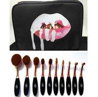 Poudre de crème BB de maquillage de Kylie Oval de maquillage de rose de maquillage de la crème BB de maquillage de maquillage de 10 pièces + sac DHL Livraison gratuite + CADEAU