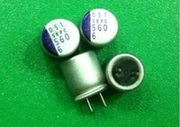 Wholesale- 10PCS 6. 3V 560UF 6SEPC560MW Solid Capacitor mother...