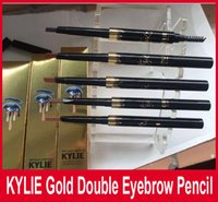 KYLIE Gold Brow definer Hills Brow Pencil Double ended with ...