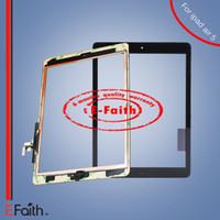 Pour iPad Air Touch Screen Digitizer avec adhésif Livraison gratuite DHL