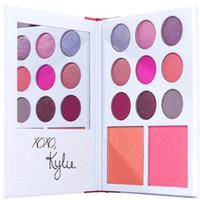 Kylie Cosmetics Jenner diary sombra de ojos Kit Kit de sombra de ojos kylie valentines colección kyshadow duos 11 colores para el día de San Valentín de regalo!