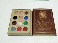 12pcs Nouveau Maquillage Maquillage et Sorcellerie Harry Potter Storybook Matte Eye Shadow Palette 12 couleurs Ombre à paupières en stock