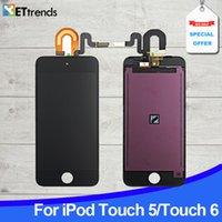 OME AAA Grade Ecran LCD pour iPod Touch 5 / Touch 6 Ecran LCD Touch Digitizer Assemblage Noir / blanc DHL Livraison gratuite