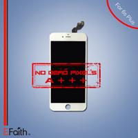 Original iPhone blanc 6S Plus Grade A +++ Affichage à cristaux liquides d'affichage à cristaux liquides