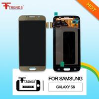Original de haute qualité pour Samsung Galaxy S6 G920F écran LCD tactile digitizer blanc bleu or G920 G920R4 G920T G920P G920V G920A