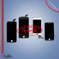 Grade A +++ Affichage LCD Touch Digitizer Cadre Assemblage Réparation pour iPhone 6 6S 7 7 Plus DHL livraison gratuite