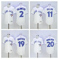 Youth Men' s sports jersey Toronto Blue Jays #2 Troy Tul...