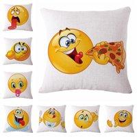 Emoji Smiley Pillow Case Emoji Pillows Cushion Emoji Mermaid...