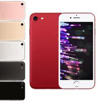 Goofón i7 1: 1 teléfono móvil real impresión Quad Quad Core MTK6580 1G / 8G Android 6.0 4,7 pulgadas IPS puede mostrar falso 4G LTE 3G WCDMA Smartphone