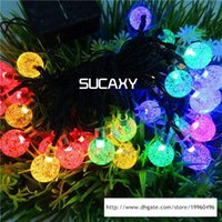 6M Xmas LED Strings 40LEDS Bubble String Battery Operated St...