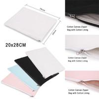 2017 Cotton Canvas Clutch Bag Purse Handbag File Pocket Coin...