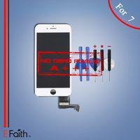 Grade A +++ noir LCD écran tactile Digitizer cadre Assemblée réparation pour iPhone 7 avec des outils DHL livraison gratuite