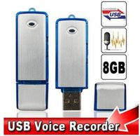 Mini Portable Digital Voice Recorder Dictaphone 8GB USB Flas...