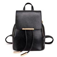 Fashion Women Backpack Casual Shoulder Bags Ladies PU Leathe...