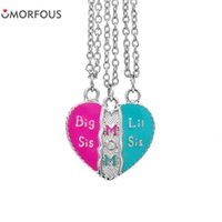 10 Sets Lot Hot Jewelry Big Sis Mom Lil Loving Heart Stitchi...