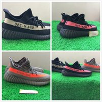 size36- 48 350V2 1: 1 quality right version black red kanye we...