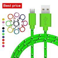 Best Price 1M 3Ft Type- C V8 IP5 IP6 IP7 Micro USB Colorful P...