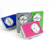 Wholesale- High Quality Mini USB Clip MP3 Player 3. 5 mm jack...