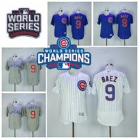 2016 World Series Champions Patch Chicago Cubs 9 Javier Baez...