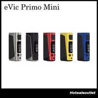 Authentique Joyetech Evic Primo Mini Kit Batterie Modes Vape 80W Power 2A Chargeur rapide TC VW E Cigarette Match ProCore Aries Atomizer