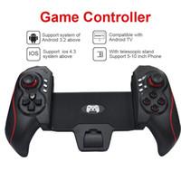 BTC-938 Support de contrôleur de jeu télescopique sans fil Périphériques de 5-10 pouces Joystick de jeu pour Tablet PC TV Box Smartphones