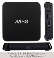 10PCS Smart Android IPTV TV boxes Kodi16. 1 S805 1GB 8GB Nobi...