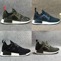 Drop Shipping Top Quality NMD Primeknit XR1 Navy White Army ...