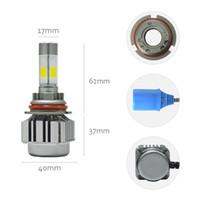 1 Set 60W 6000LM CR V8 COB LED Headlight H1 H3 H4 H7 H11 900...