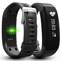 Bracelet de sport de santé H28 Smart Bracelet Bluetooth 4.0 Bracelets Smart Waterproof Passometer moniteur de sommeil avec moniteur de fréquence cardiaque