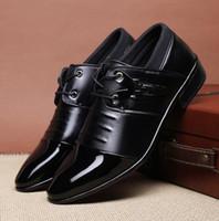 Fashion Men Office Suit Shoes Oxfords Men Wedding Party Shoe...