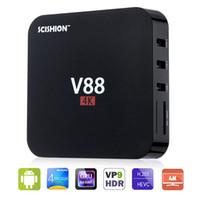 Factory Sale V88 Android 5. 1 TV Box 4K RK3229 Quad Core Cort...