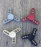 4 colores Torqbar EDC Spinner mano Fidget Spinner HandSpinner Juguetes Dedo de la descompresión ansiedad girocompás con caja al por menor KKA1457