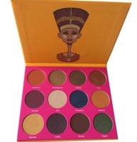 Новое прибытие Нубийский 2nd Edition палитра палитра теней для век от Juvia Плэйс макияжа Тени для век DHL Free