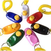 Pet Training Clicker Button Clicker with Wrist Strap, Traini...