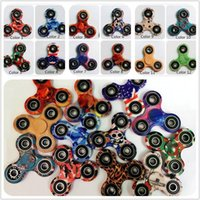 12 Colors Camouflage Hand Spinner Tri Fidget Tri- Spinner EDC...