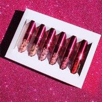 KYLIE Collection Saint-Valentin Kit Mini 6pcs / set kylie jenner édition valentine kit de lèvres maquillage lèvres mat mat gloss kits