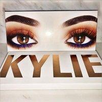 En stock La palette Royal Peach Kylie Jenner Cosmétique Kyshadow eye shadow Kit 12 couleurs Ombre à paupières Bronze et Bourgogne Palette DHL