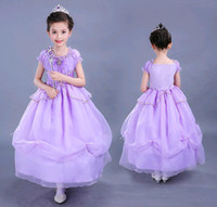 Children Costumes Sofia First Princess Girl Dress Summer Aut...