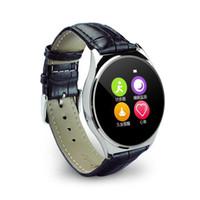 Stocks américains! Étanche US03 Bluetooth Smart Watch fréquence cardiaque pour iPhone Android Samsung LG Livraison gratuite