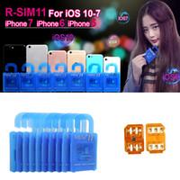 R SIM 11 RSIM11 r sim11 rsim Разблокировка R-SIM для iPhone 5 6 7 плюс iOS 7 8 9 10 ios7-10.x CDMA GSM WCDMA SB AU SPRINT 3G 4G Продажа фабрики