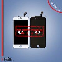 Pour l'affichage d'affichage de catégorie A +++ d'iPhone 6 avec le numériseur d'écran tactile complet Livraison gratuite de DHL