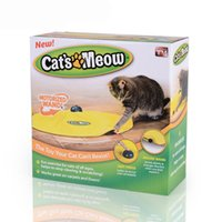 Cat Toy Under cover Nylon Fabric Moving Mouse Interactive Pl...