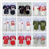 Bryce Harper Jersey #34 Washington Nationals Baseball Jersey...