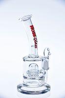 Verre, eau, tuyaux, birdcage, perc, verre, bongs, deux, fonction, huile, recycleur, expédition