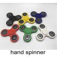 Nouveau Hand Spinner doigts spiral doigts gyro Torqbar Laiton Roulements en acier de la boule en céramique Spinner main acrylique