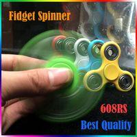 Fidget Spinner Peluche Jouet Plastic Handspinner Fidget Doigts Spiral Triangle Hand Spinner EDC fidget Rollver Retail Pack